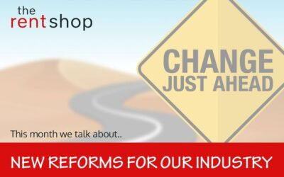 New reforms for our industry